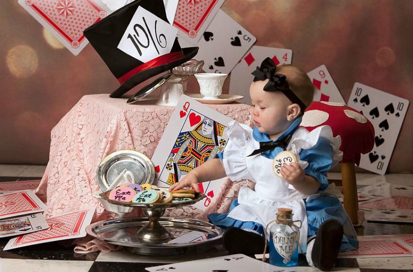 Bebeklerin Masal Kahramanına Dönüştüğü 10 Konsept Fotoğraf