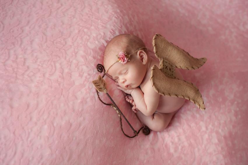 """""""Meleğim Benim, Bebeğim Benim"""" Temalı Bebek Fotoğrafları"""