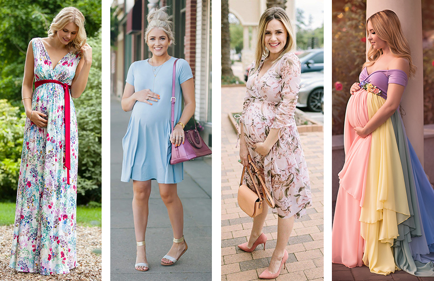 hamile robadan bol kesimli elbise, ile ilgili görsel sonucu