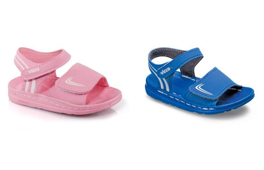 Bebekler İçin Sportif Örgü Sandaletler