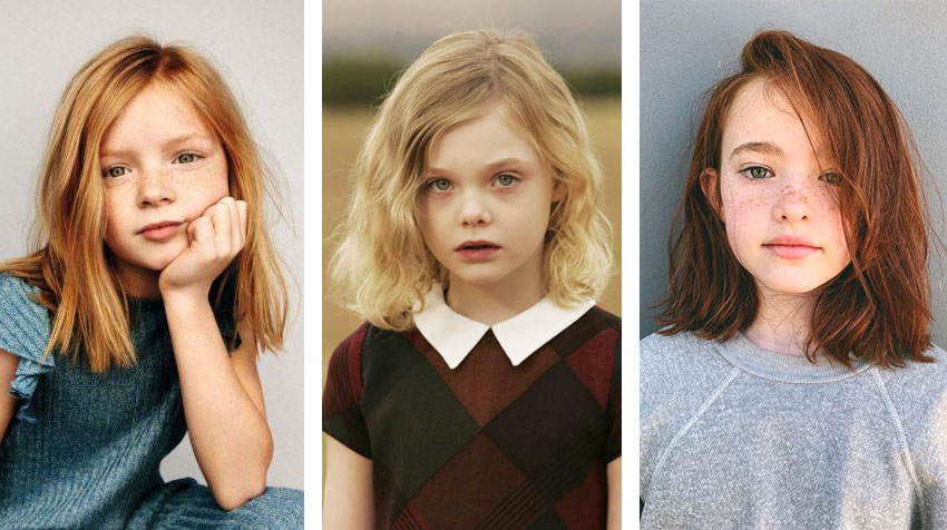 Highlights of Girls' Haircut Models!