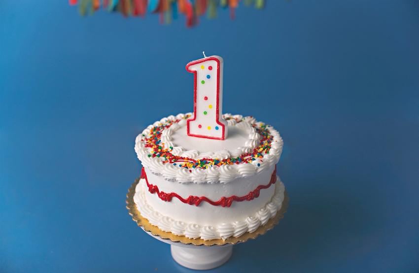Картинки 1 год торт
