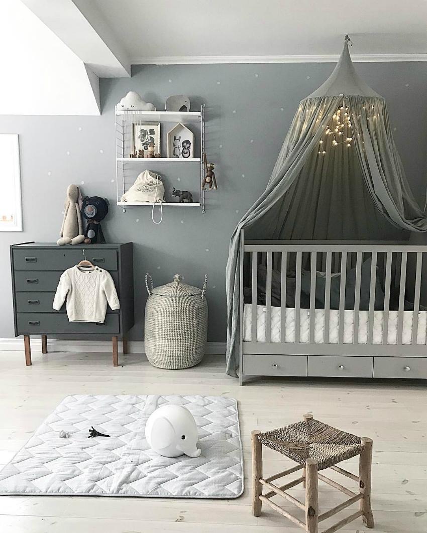 Nursery Decor Ideas From Joanna Gaines: 9 Renge Göre Bebek Odası Dekorasyon Fikri
