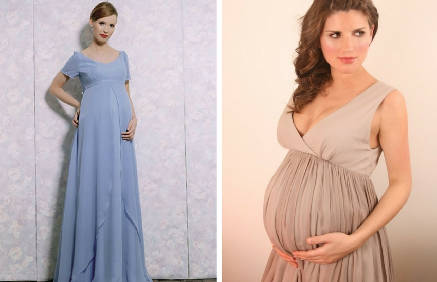 25c45b4542c26 Sıkı kemerleri, bel bantları olan abiye elbiseler sana göre değil. Göğüs  altından bollaşan veya belini sadece kumaş ile saran hamile abiye modelleri  ...