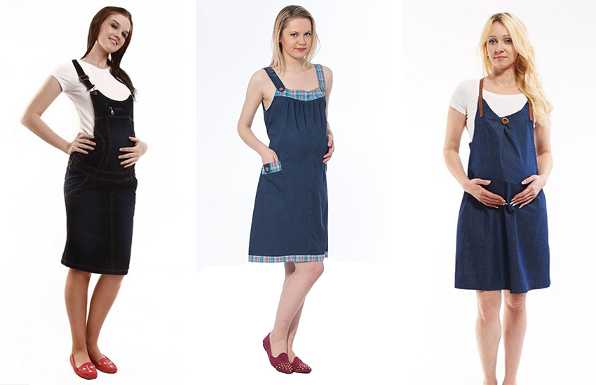 c85c86cf9b5b8 Giyimi kolay ve ayarlanabilir: Hamile uzun salopet. Hamile bahçıvan  elbiseleri ...