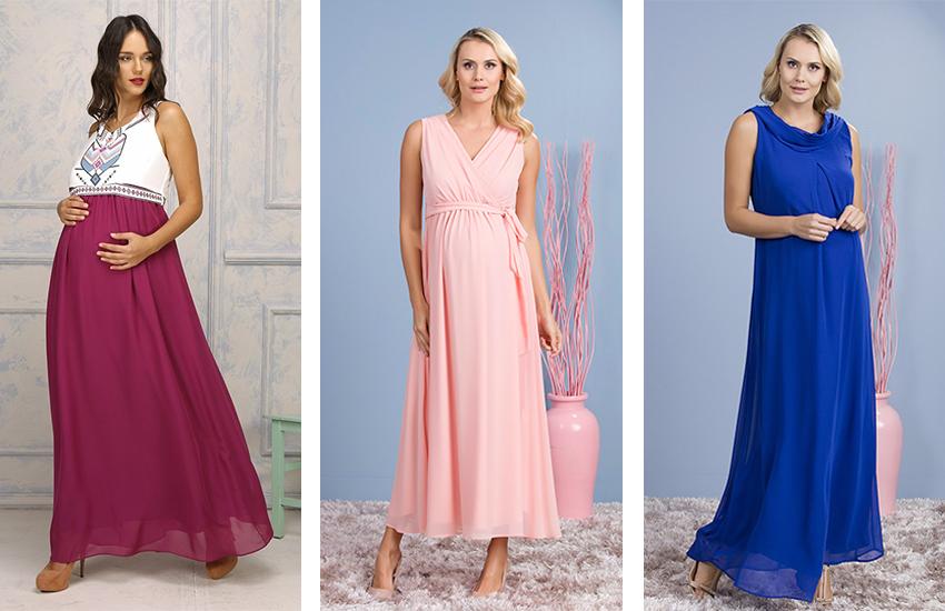 6be05b48a0676 Uzun Hamile Elbiseleri: Yaz Aylarına Şıklık Getiren 10 Model ...