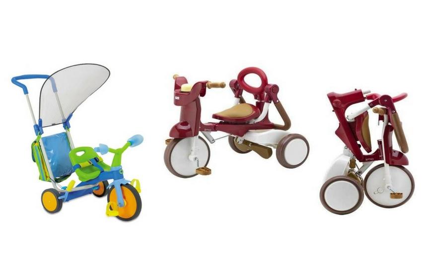 Bir kolu olan bir çocuk bisikleti üç tekerlekli bisiklet nasıl seçilir