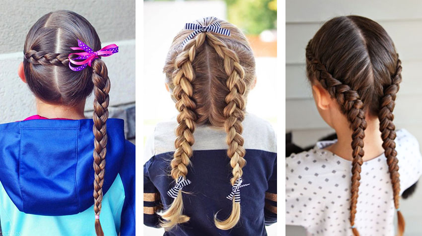 Child Hair Braiding Models: The Most Stylish and Natural Styles!