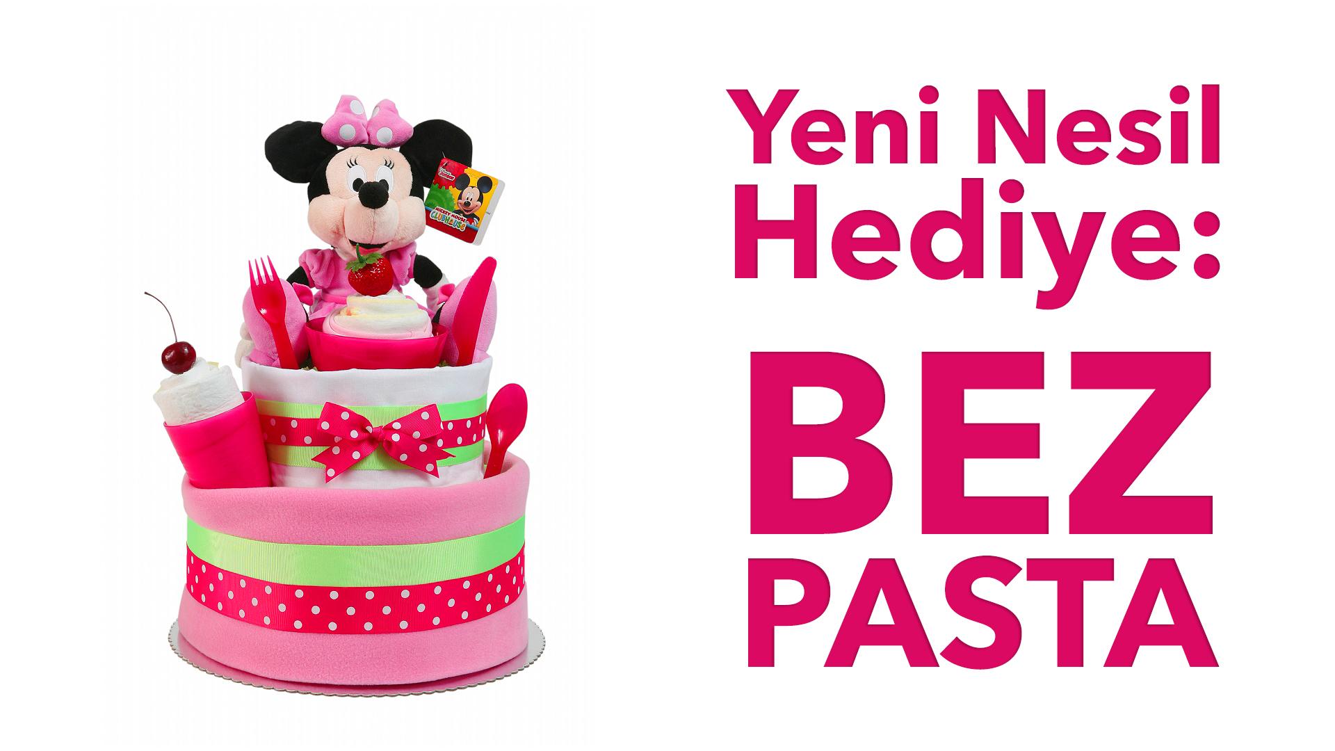 Yenidoğan Bebekler İçin Hediye Alternatifi: Bez Pasta!